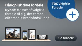 find mobilnummer tdc
